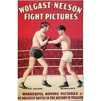Wolgast-Nelson Fight Pictures Movie Poster Print (27 x 40)