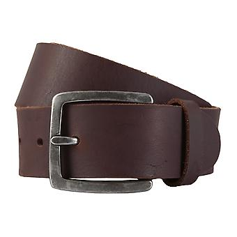 ALBERTO belt leather men's belts Leather Brown 1926
