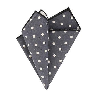 Snobbop Navy-Blau handkerchief with white dots handkerchief Cavalier cloth