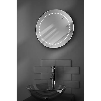 Mirage Battery LED Bathroom Mirror With Pull Cord k4