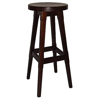 Balmeno Wooden High Bar Stool Finish Set Of 2