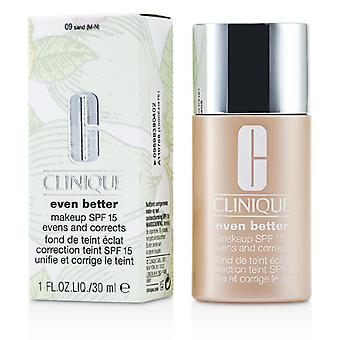 Clinique Even Better Makeup SPF15 (Dry Combination to Combination Oily) - No. 09/ CN90 Sand 30ml/1oz