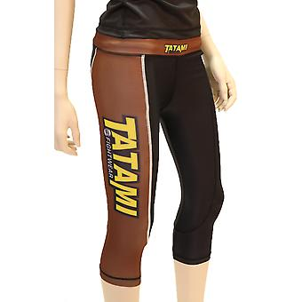 Tatami Fightwear Ladies IBJJF Grappling Tights - Brown