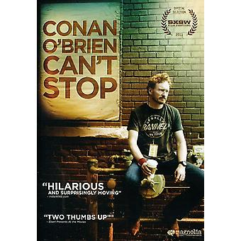 Importación de USA Conan o ' Brien Can't Stop [DVD]