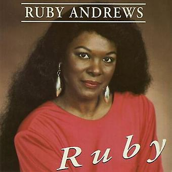 Ruby Andrews - Ruby [CD] USA import