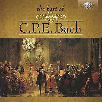 Bach - Best of C.P.E. Bach [CD] USA import