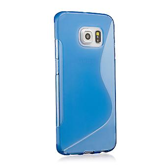S-Line gel case cover for Samsung Galaxy S6 SM-G920 - Deep Blue