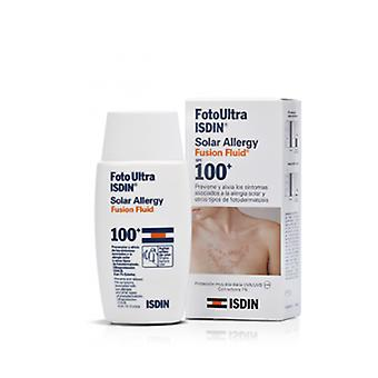 Isdin FotoUltra Sonnencreme Solar Allergy Fusion Fluid LSF 100+ 50 ml