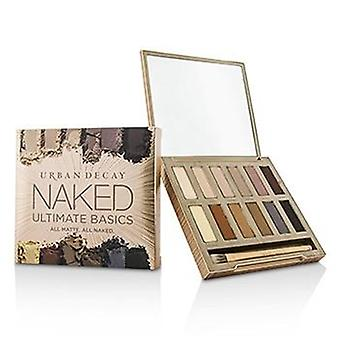 Urban Decay Naked Ultimate Basics Eyeshadow Palette: 12x Eyeshadow 1x Doubled Ended Blending and Smudger Brush - -