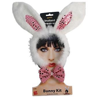 Банни набор волос кролика кролик костюм