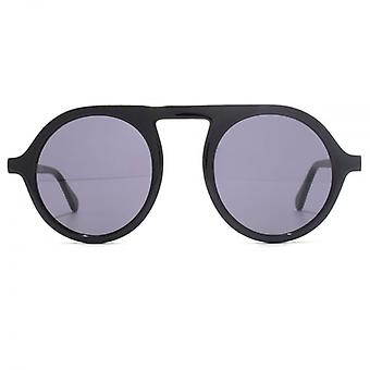 Stella McCartney Falabella Round Sunglasses In Black