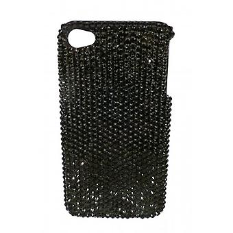 W.A.T Sparkling Black Crystal IPhone 4 Cover