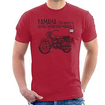 Haynes Owners Workshop Manual Yamaha 200 Electric Men's T-Shirt
