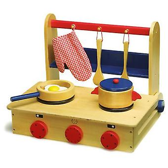 Legler Kitchen in a Suitcase (Toys , Home And Professions , House , Playkitchen)