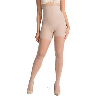SPANX Luxe Leg 20 Denier High-Waisted Sheers - Nude