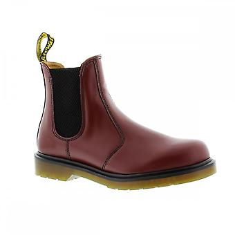 Dr Martens 2976 - Cherry Red Smooth Womens Boots