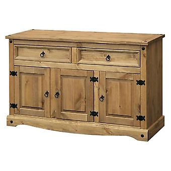 Core Products Corona Medium Pine 3 Door & 2 Drawer Sideboard