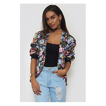 The Fashion Bible Modern Love Floral Jacket