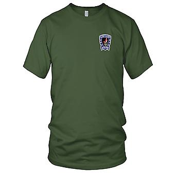 US Army - 3rd Squadron 6th Air Cavalry Aviation Attack Regiment B Troop Embroidered Patch - Mens T Shirt