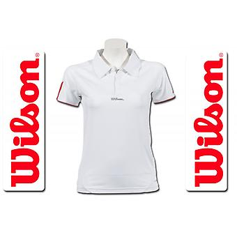 Wilson ladies performance Polo white/Rosé WRE10830014