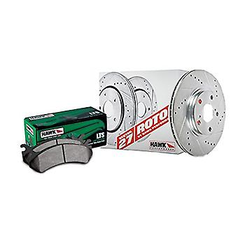 Hawk Performance HK4424.210Y Brake Rotor with LTS Pad Kit