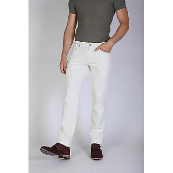 Jaggy Jeans White Men