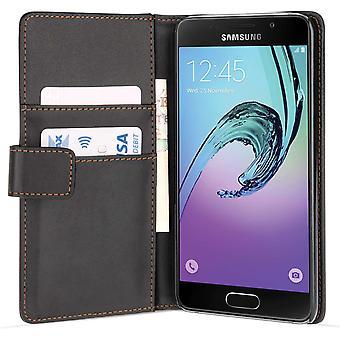 Samsung Galaxy A3 (2017) PU Wallet - Black