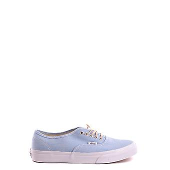 Vans women's MCBI306090O light blue fabric of sneakers