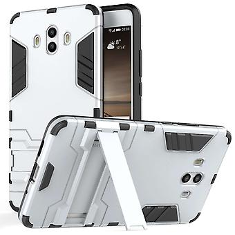 Huawei Mate 10 Armour Combo staan Case - staal zilver