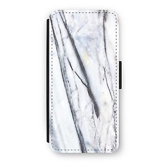 iPhone 5c Flip Case - Striped marble