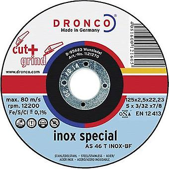 Dronco 1113270-100 Separation and roughing disk AS 46 T INOX Cut+Grind Ø115 mm 1 pc(s)