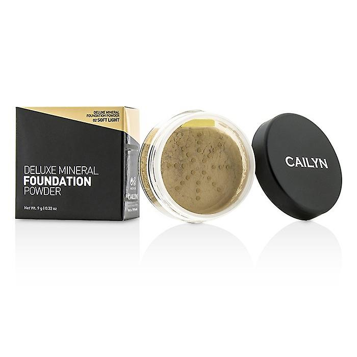 Soft Cailyn Deluxe Foundation Mineral 0 Powder02 32oz Light 9g xeBCdo