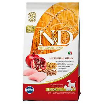 Farmina N&D Low Grain Adult Mini-Medium Senior Pollo (Dogs , Dog Food , Dry Food)