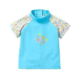Splash About Girls SS Rash Top | Flora Bimbi
