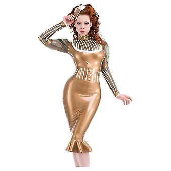 Westwaarts gebonden Coco-Chic Latex Rubber rok