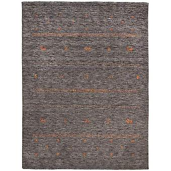 Rugs - Nashville Gabbeh - Anthracite / Orange