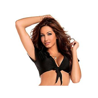 Be Wicked BW861 Solid color Lycra Tie top