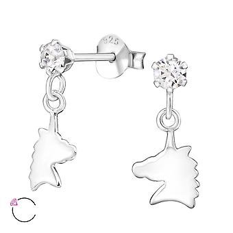Unicorn crystal from Swarovski® - 925 Sterling Silver Children's Jewellery