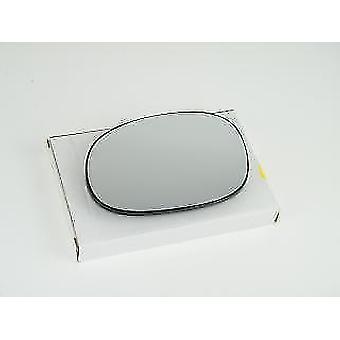 Left Mirror Glass (heated) & Holder for PEUGEOT 206 Van 1999-2010