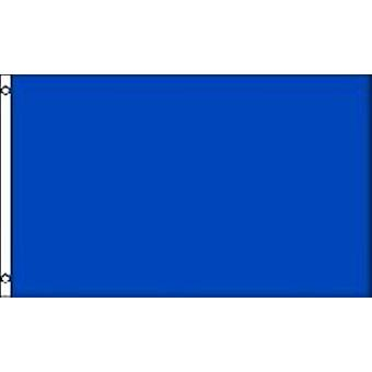 Plain Blue Flag 5ft x 3ft With Eyelets For Hanging