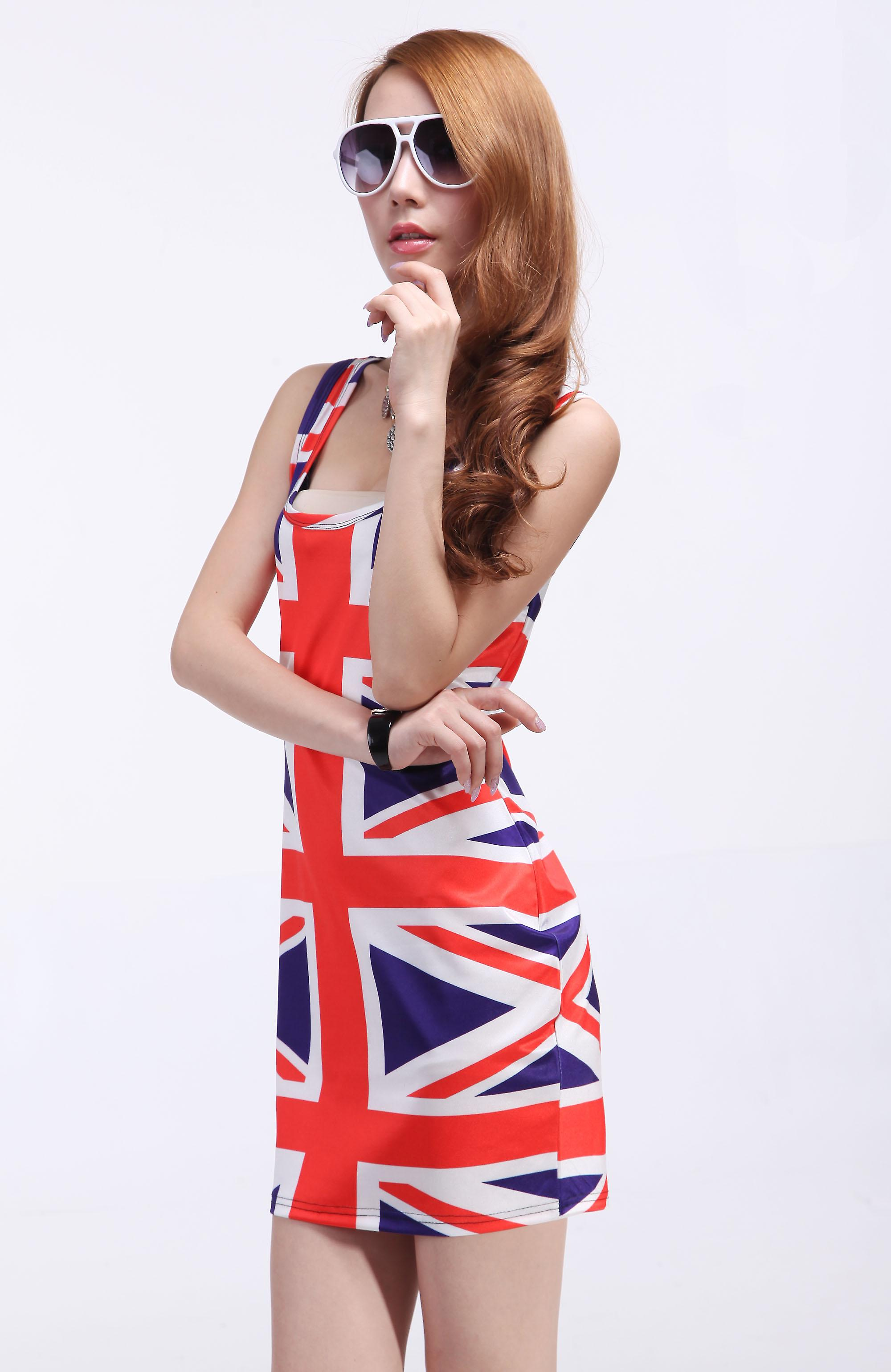 Waooh - Mode - Robe Courte motif British