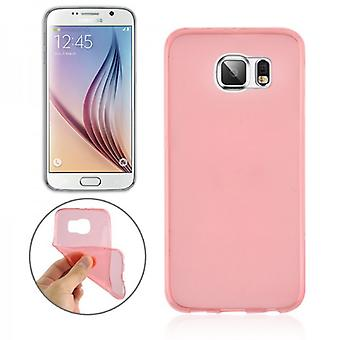 Silikoncase red 0,3 mm ultra thin case for Samsung Galaxy S6 G920 G920F