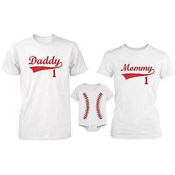 Baseball Family Family Matching Shirts and Bodysuit