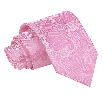 Baby Pink Paisley Classic Tie