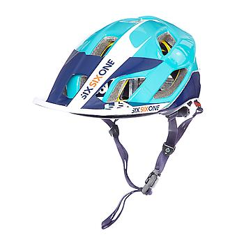 Six Six One Orange-Blue 2018 Evo AM MIPS MTB Helmet