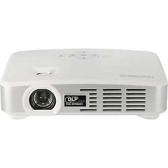Telefunken projektor DLP500 WIFI DLP ANSI lumen: 500 lm 1280 x 800 WXGA 1000: 1 biały