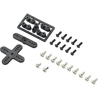 Plastic lever set Modelcraft Compatible with: Futaba No. of bores: 3