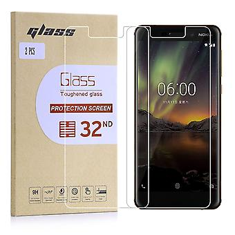 Extra Armoured Tempered Glass for Nokia 6 (2018) - 2 Pack
