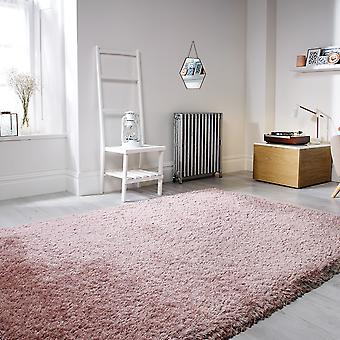 Pearl Dusky Pink  Rectangle Rugs Plain/Nearly Plain Rugs