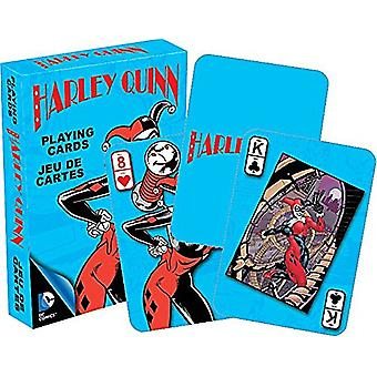Dc Comics Harley Quinn Set Of Playing Cards (Turquiose Box Version)